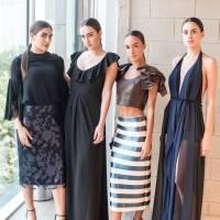 María Salmón, Mariana Giner, Carlota Enseñat y Daniela Magallanes