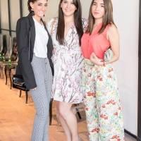Regeane Esteban , Tania Calderón y Mariana Cubas