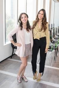 Michelle Azofeifa y Brenda Lizarraga