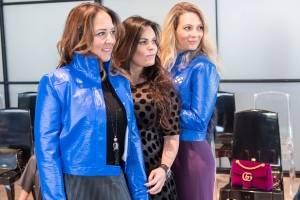 Sabrina Herrera, Gabriela Murillo y Zarina Rivera