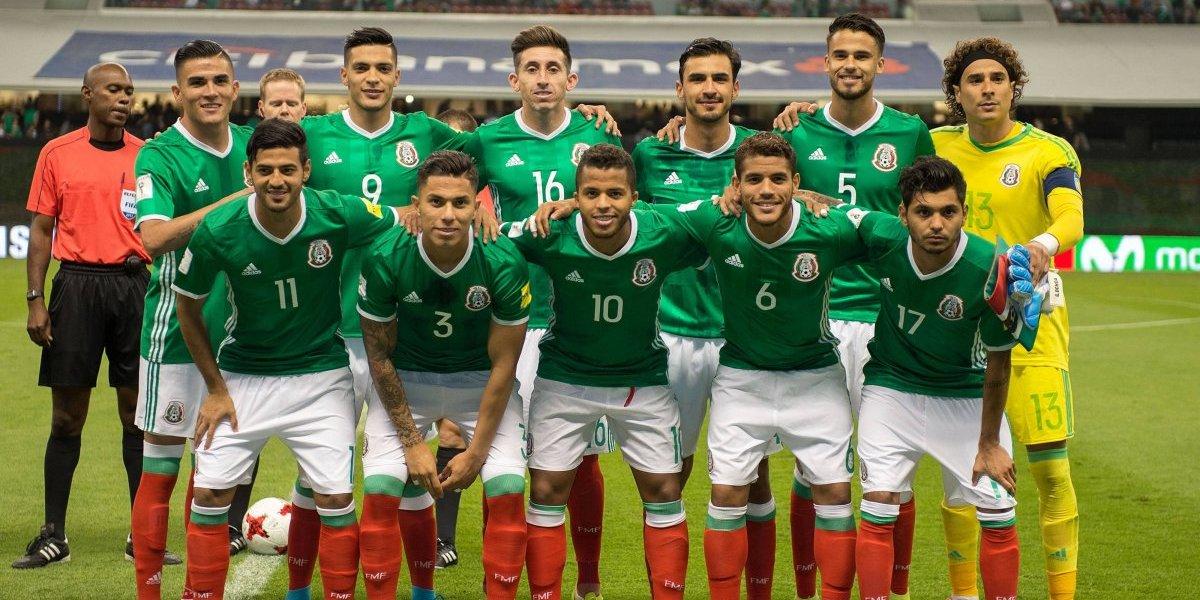 México, dentro de las 10 mejores selecciones para el Mundial de Rusia 2018