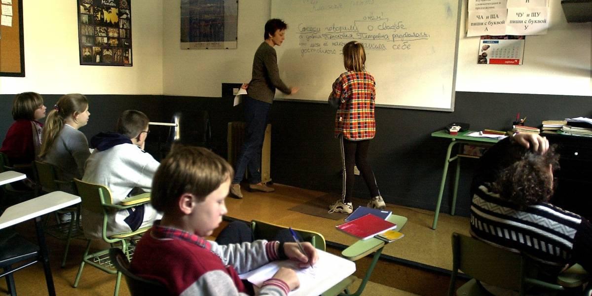 Denuncian con video agresión de profesora a estudiantes de primaria de colegio en Bogotá
