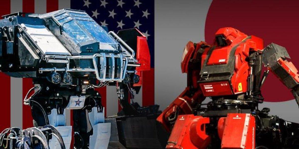 Transmisión Primer duelo de robots gigantes enfrenta a Estados Unidos contra Japón