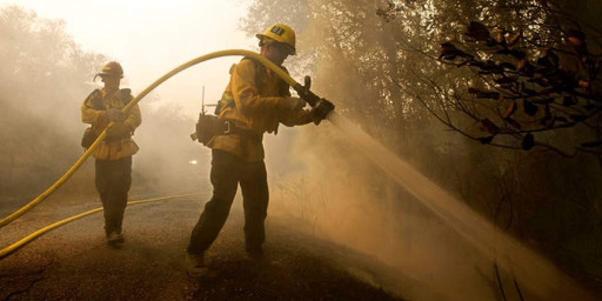 Cuarto día de incendios fuera de control en California