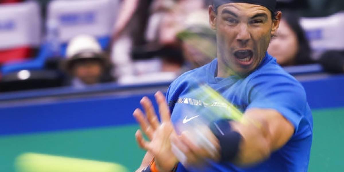 Nadal, Federer y Del Potro avanzan a semis en Shangai