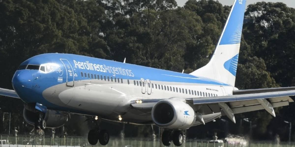 Una protesta sindical afecta vuelos de Aerolíneas Argentinas