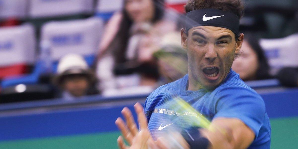 Nadal avanza a Semifinales del Masters de Shangai