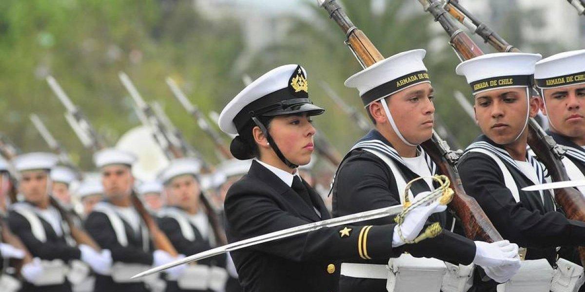 Armada de Chile admite por primera vez conscriptas para que cumplan el Servicio Militar