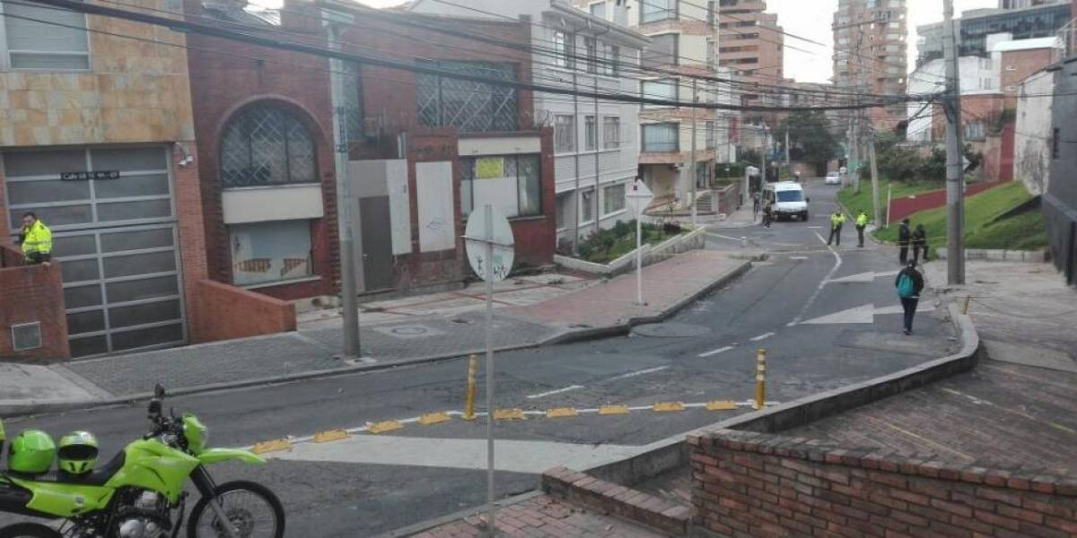 ¡Atención! Balacera en el barrio Rosales de Bogotá
