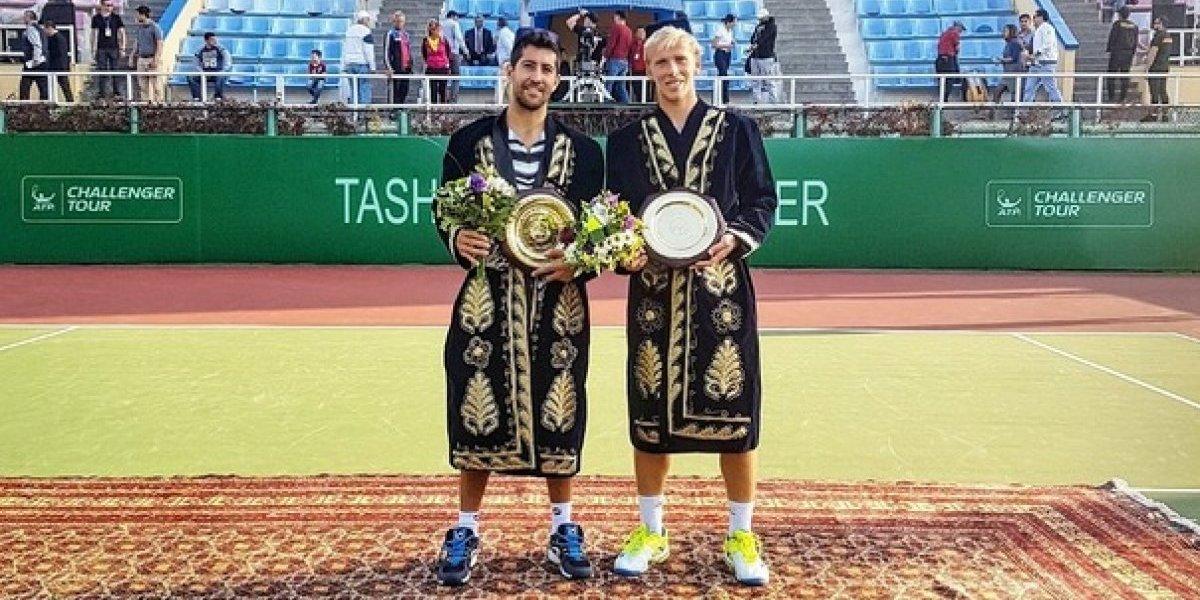 Hans Podlipnik salió campeón y vive el mejor momento de su carrera en la ATP