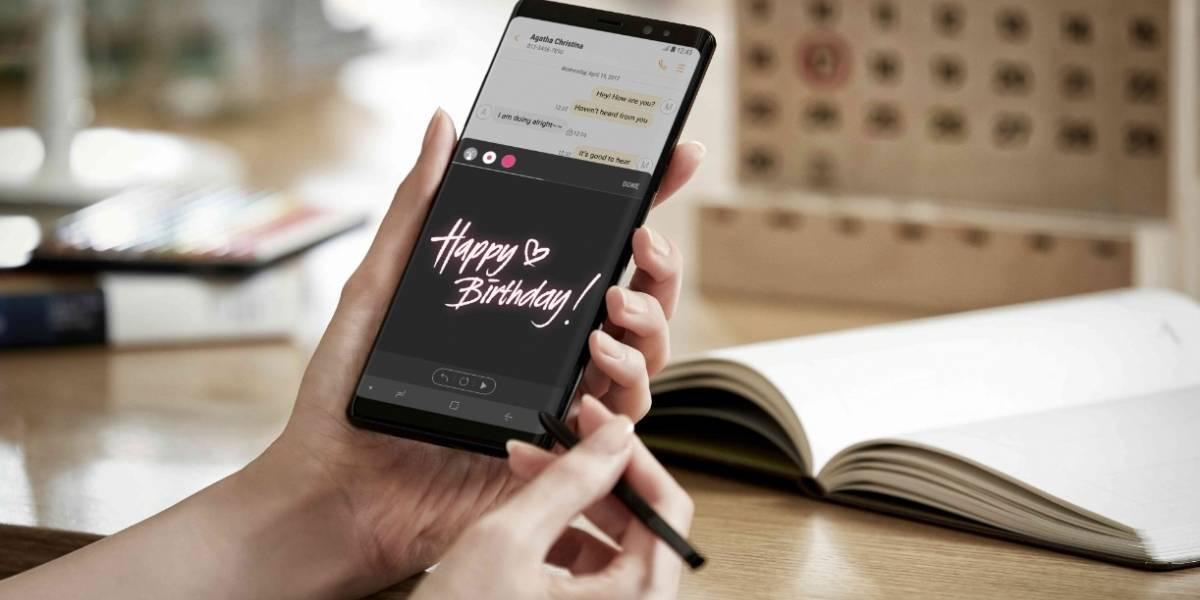Ya puede comprar el nuevo Galaxy Note 8 en Colombia
