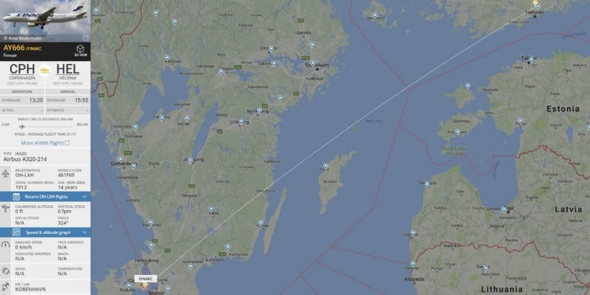 """Terrorífica coincidencia: el vuelo 666 que despegó por última vez con destino al """"infierno"""" el viernes 13"""