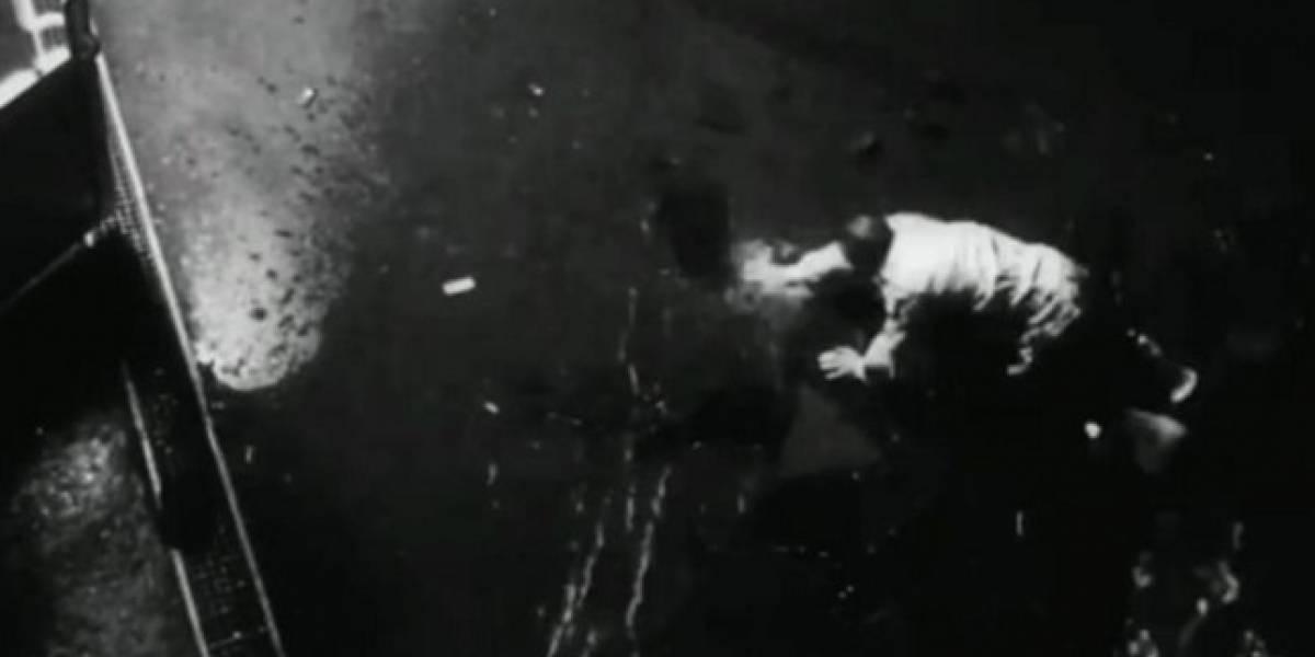 """Video: Hombre es arrastrado por """"fuerza paranormal y video se hace viral"""