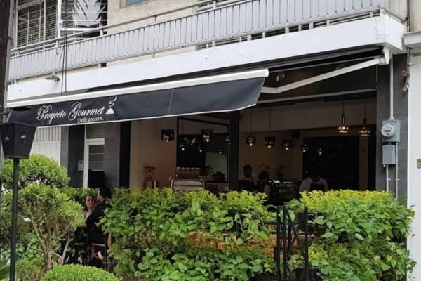 Los hechos ocurrieron en la cafetería Proyecto Gourmet, en Vértiz 1211