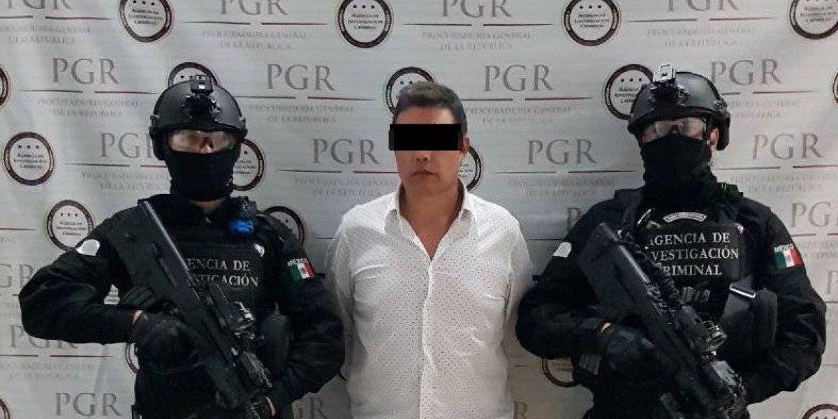 Detienen en la CDMX a Nazario 'N', uno de los más buscados por la DEA