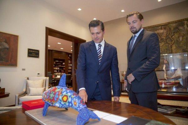 Leonardo DiCaprio, Enrique Peña Nieto