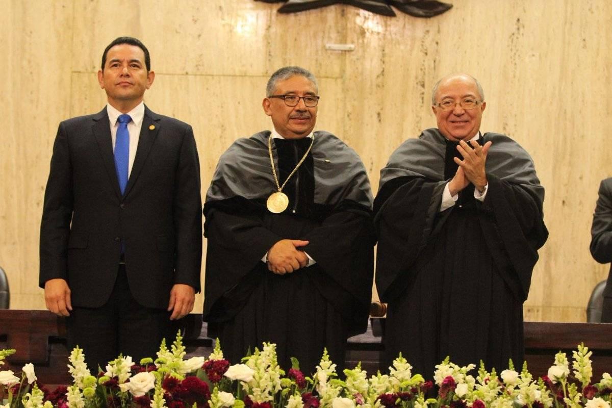 Toma de posesión de José Antonio Pineda como presidente del OJ. Twitter