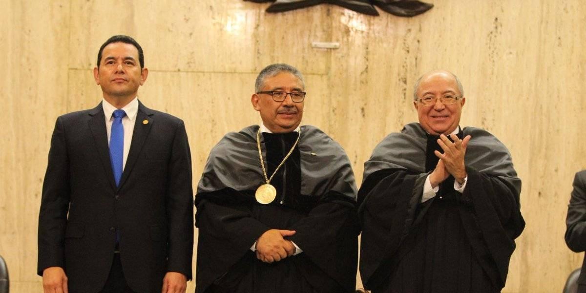 José Antonio Pineda Barales asume como presidente de la CSJ