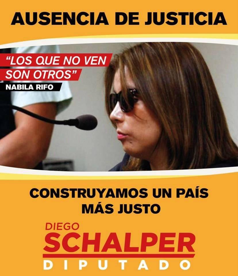 Campaña Diego Schalper nabila Rifo