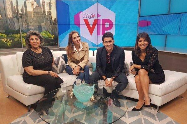 Virginia Reginato, Carola de Moras y Rafael Araneda