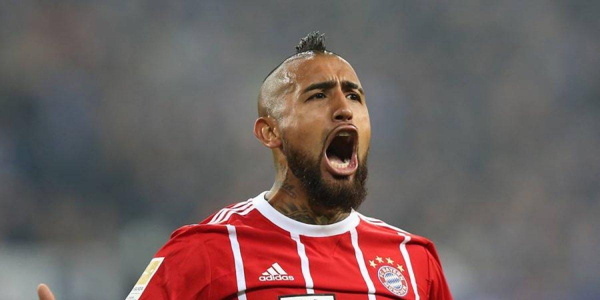 Arturo Vidal tendrá descanso en Bayern Munich y volverá para la Champions