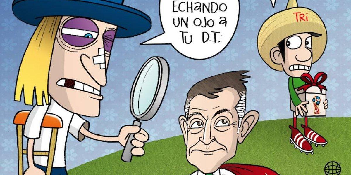 ¿EU quiere a Juan Carlos Osorio como entrenador? el cartón del día