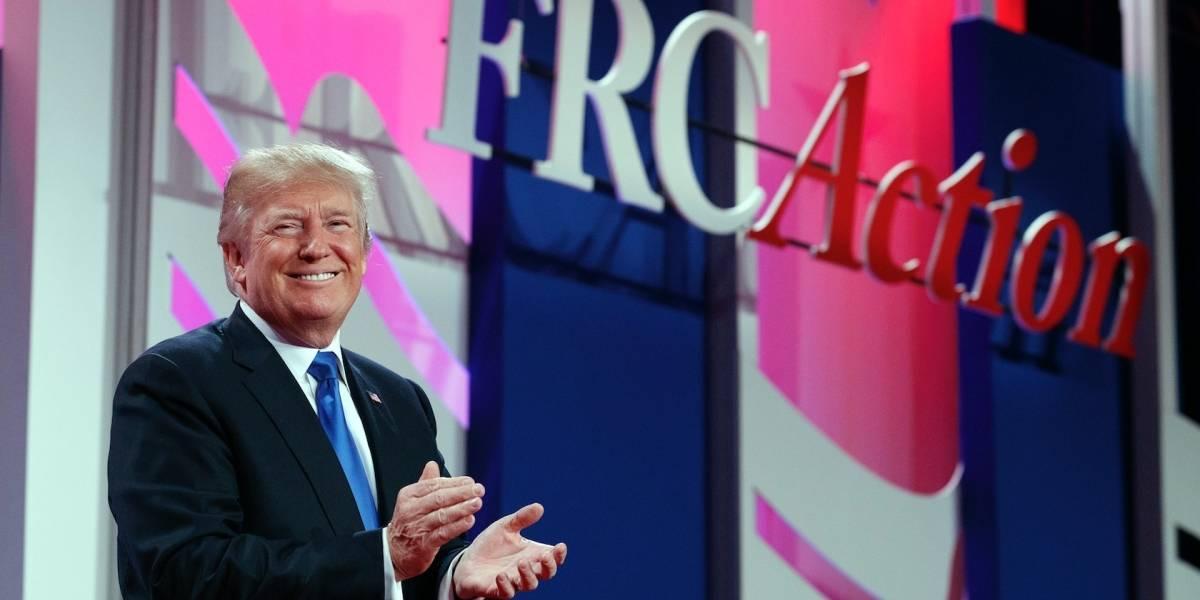 Trump dice que apoyará a grupos religiosos conservadores