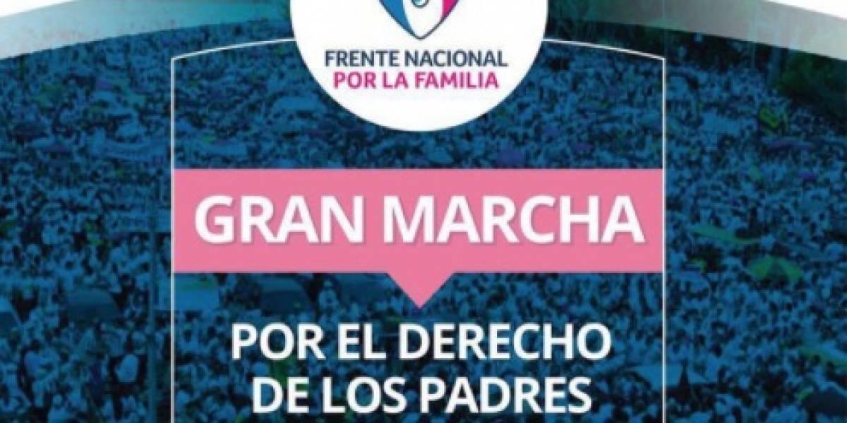 'Con mis hijos no te metas': Convocan a marcha en rechazo a proyecto de ley