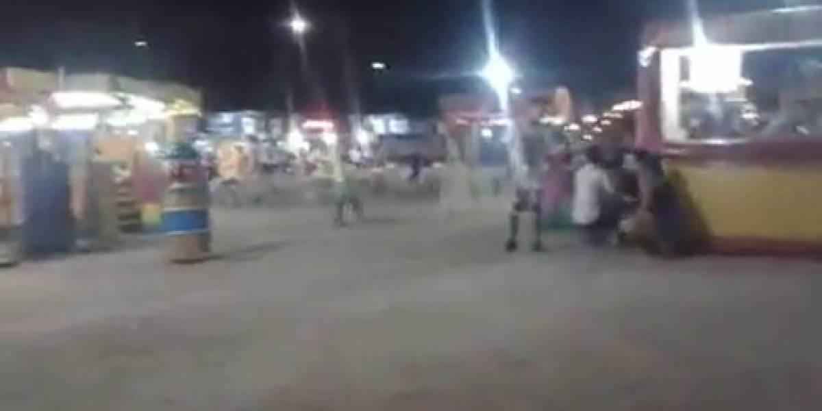 Tiroteio deixa três feridos em parque de diversões no Rio