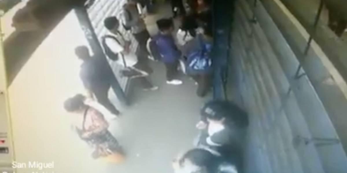 VIDEO. Comparten imágenes del momento exacto de ataque armado contra estudiantes en zona 6