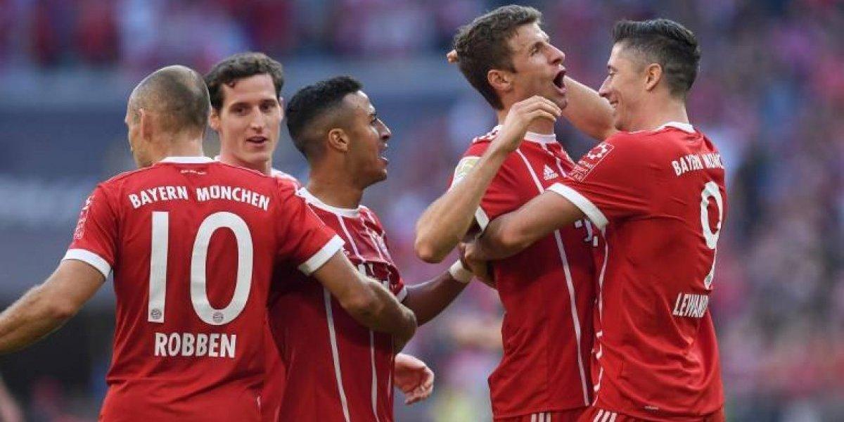 Sin Vidal: el Bayern volvió a ser la aplanadora de siempre en el redebut de Heynckes