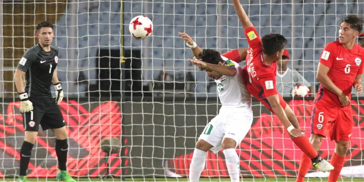 Desastrosa campaña: Chile se despidió del Mundial Sub 17 tras empatar ante México