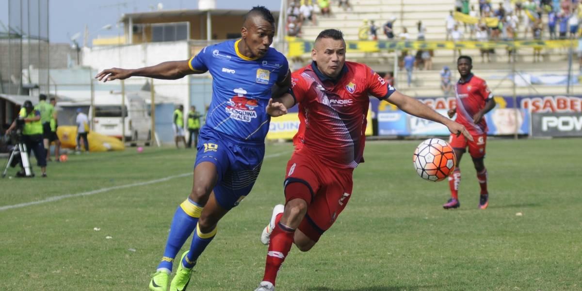 Delfín gana 2-1 a El Nacional en el Jocay