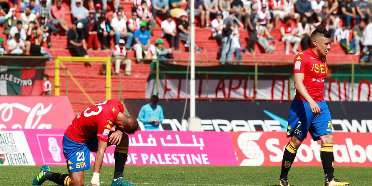 Así vivimos la goleada de Palestino sobre Unión Española que le quitó el invicto