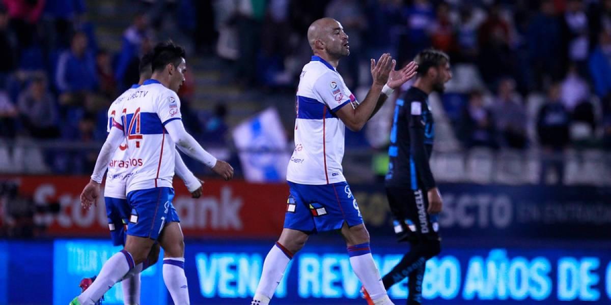 El Tanque Silva rompió la mufa: no hacia un gol hace cinco meses en la UC