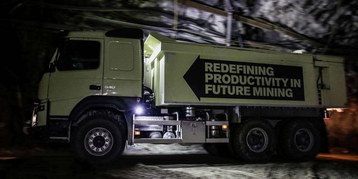 Las mineras nacionales conocen el primer camión autónomo para el rubro