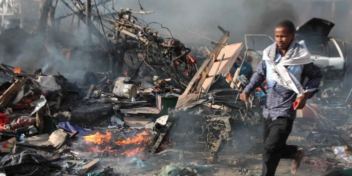 Al menos 30 muertos en ataque terrorista en Somalia