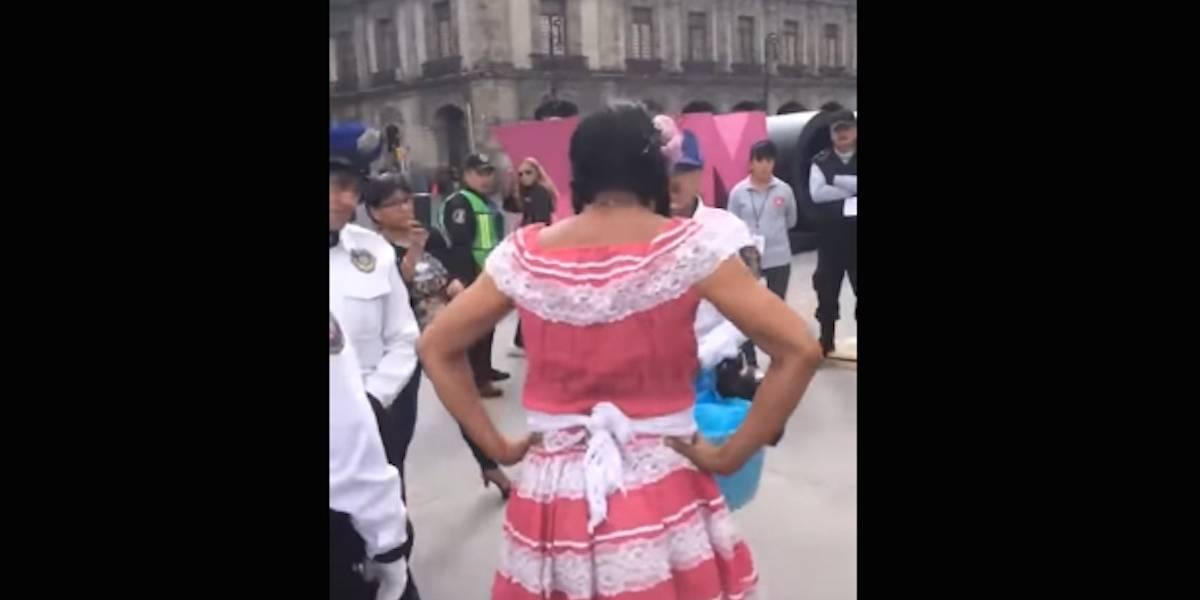 Discriminan a Lady Tacos en la Feria del Libro del Zócalo