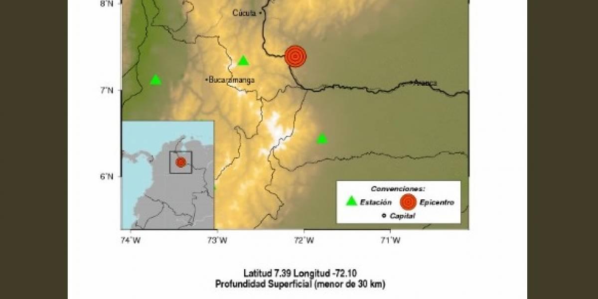 Sismo de magnitud 4.9 sacude a Colombia