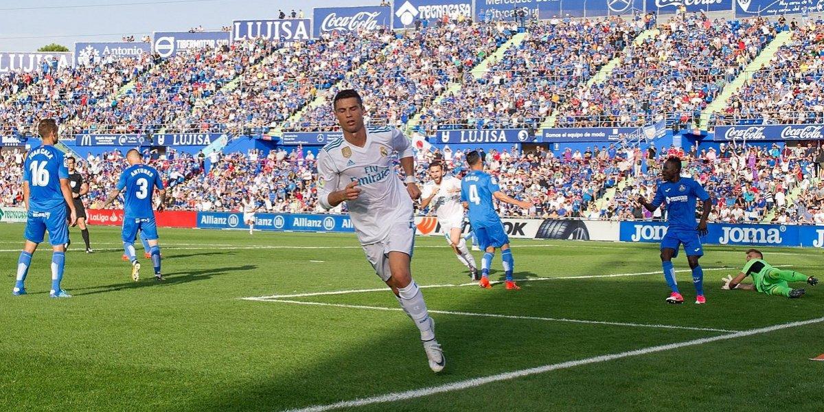 Cristiano se estrena en Liga para salvar al Real Madrid