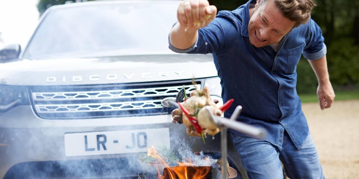Land Rover crea Discovery especial para el chef Jamie Oliver