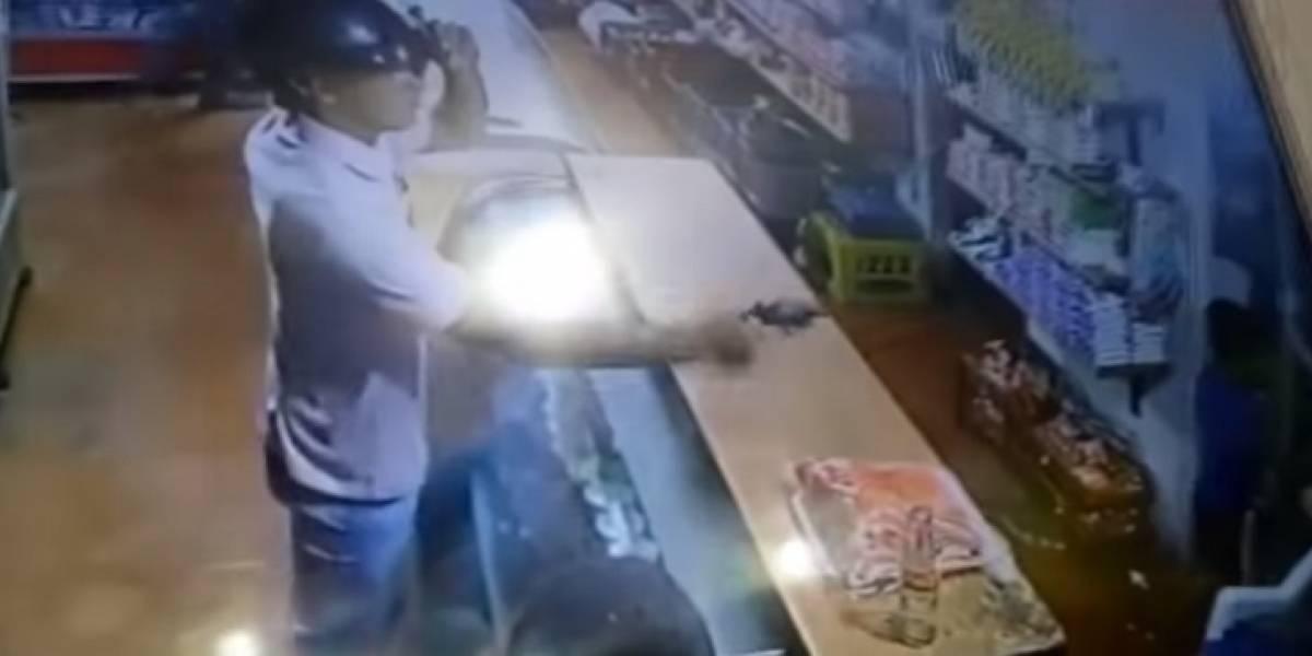 Ladrón desalmado le disparó a niño de cuatro años porque salió corriendo