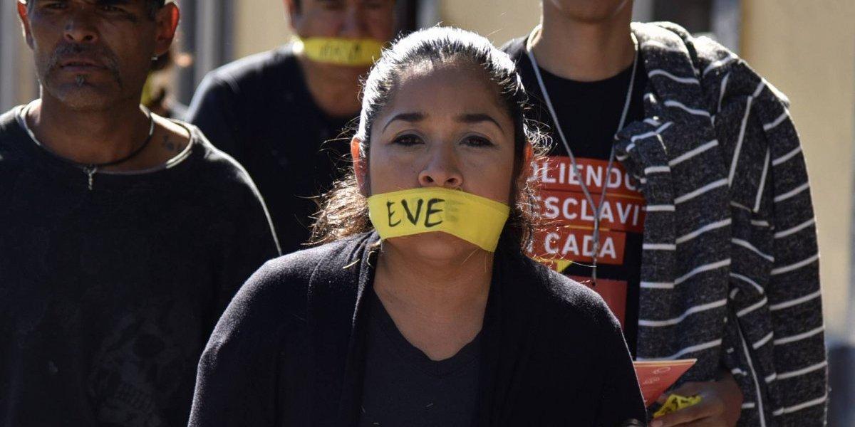 México protesta contra la esclavitud en la marcha mundial 'Walk For Freedom'