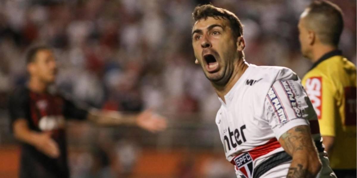 Pratto admite chance de sair do São Paulo