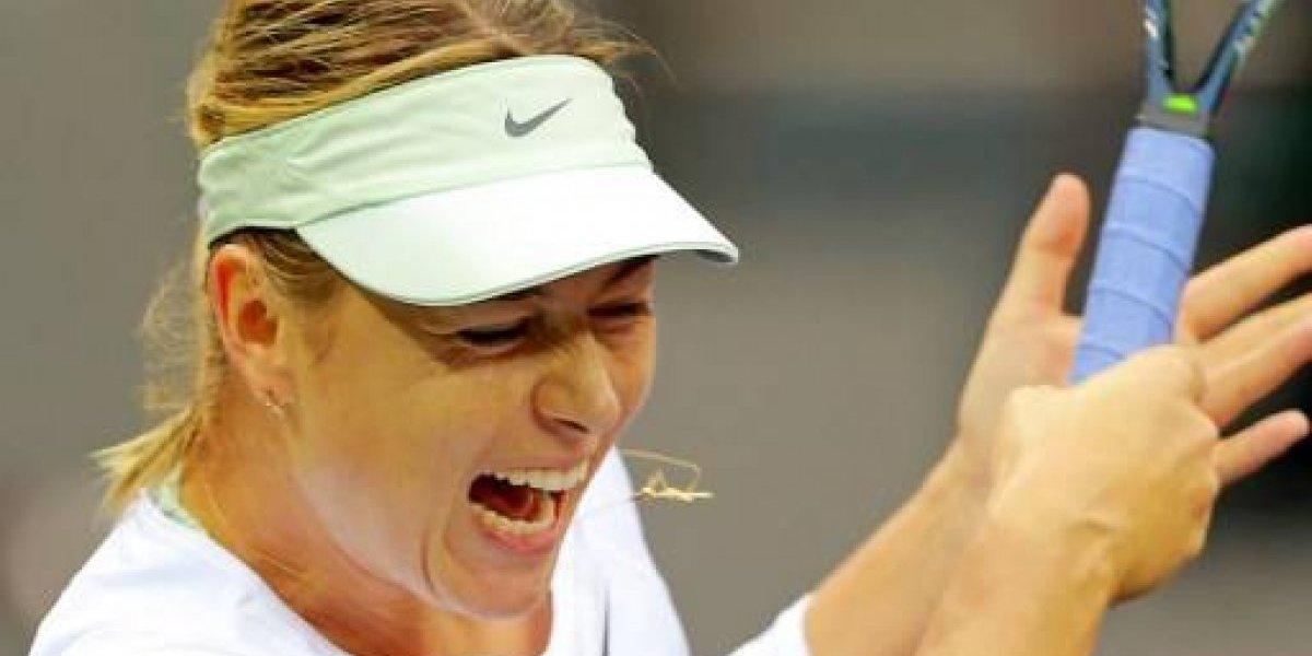 Maria Sharapova jugará su primera final después de ser suspendida por dopaje