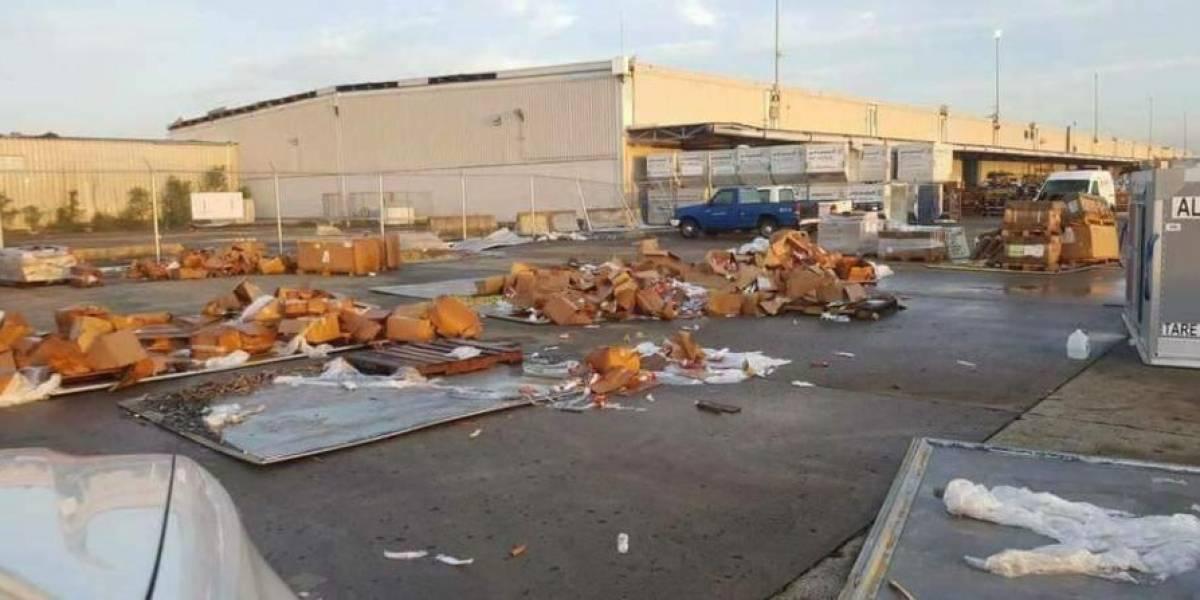 Gobierno asegura atendió suministros olvidados en el Aeropuerto LMM