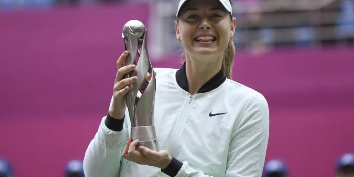 Fin a la sequía: Maria Sharapova gana su primer título desde la suspensión por dopaje