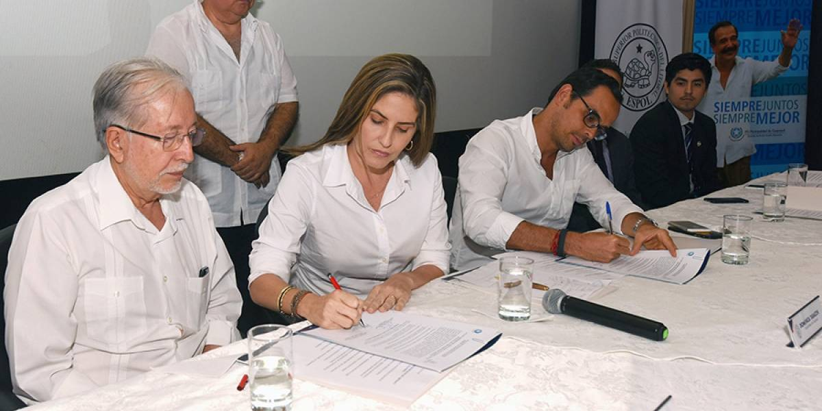 Municipio entregó a la Espol 12.000 licencias de GetAbstract