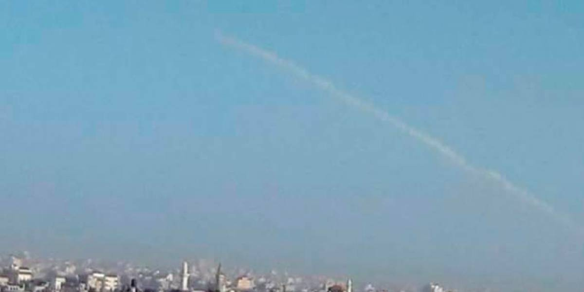 Lanzan misiles desde el Sinai egipcio a territorio israelí