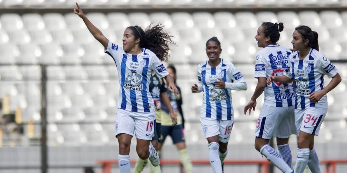 América pierde el invicto con Pachuca en la Liga MX Femenil